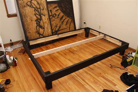diy platform bed frame 301 moved permanently