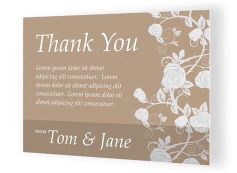 make your own thank you cards with photo custom thank you card printing