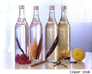 Make Your Own Infused Flavored Alcohol   DIY Inspired
