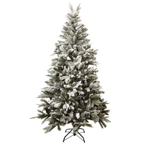 linea white flocked tree from house of fraser best