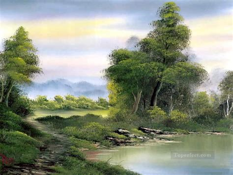 bob ross paintings price secluded lake style of bob ross painting in for sale
