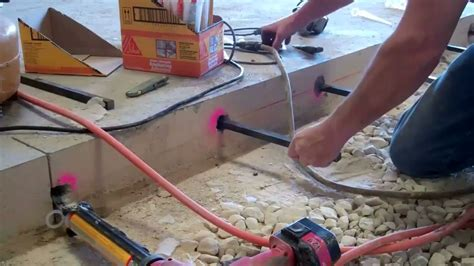 How To Remove Water From Basement by Greenstreak Slab Replacement 2 Mp4 Youtube