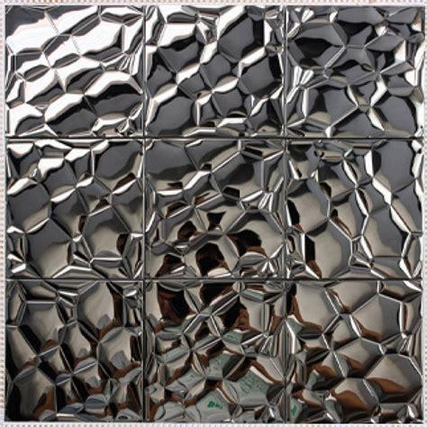 Brick Tile Backsplash Kitchen metallic mosaic tile stainless steel tile patterns kitchen