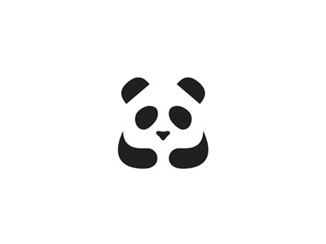 panda house by logo machine dribbble