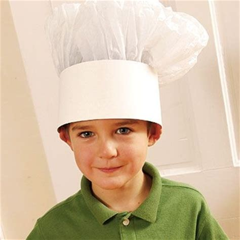 paper chef hat craft springtime mickey bark recipe chef hats chef
