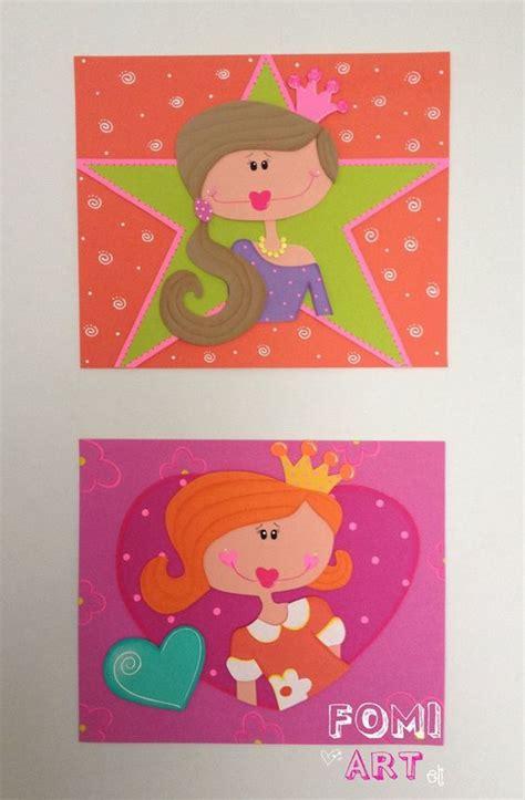 cuadros goma eva cuadros princesas en fomi foami pinterest