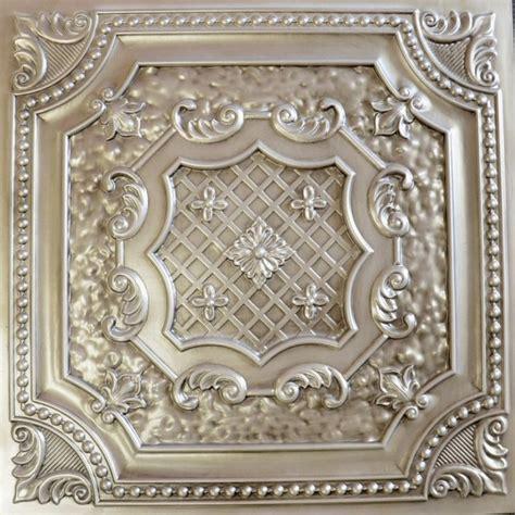 faux ceiling tiles dct 04 antique white faux tin ceiling tile 24x24 ceiling