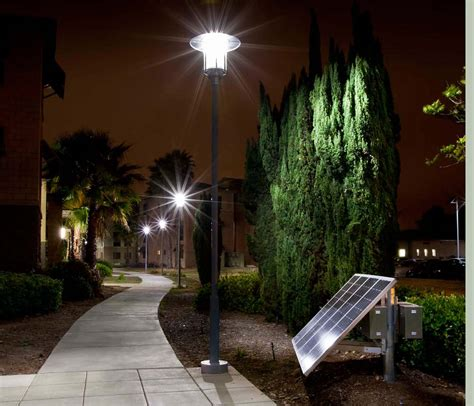 solar walkway lights sepco completes led solar walkway lighting project at usmc