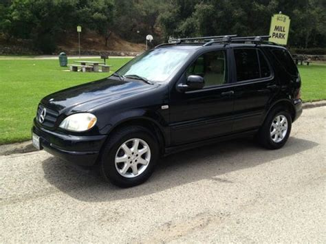 2001 Mercedes Ml430 by Purchase Used 2001 Mercedes M Class Ml430 Black