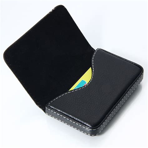 how to make a card wallet new leather business name credit id card holder wallet
