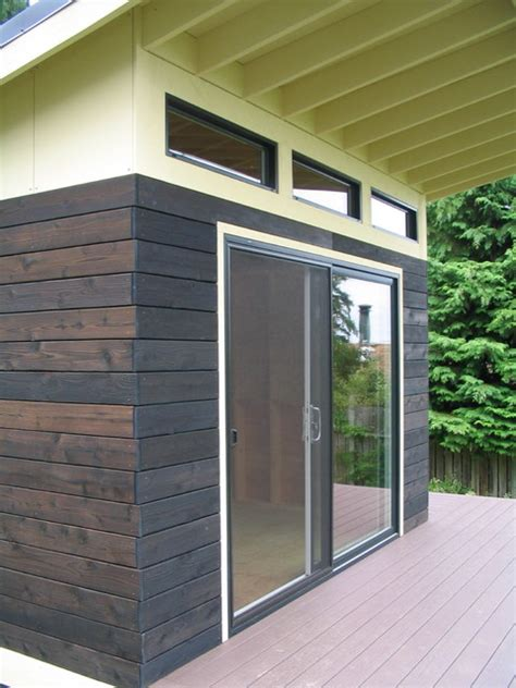 Storage Ideas For Tiny Bathrooms a modern shed modern garage and shed seattle by j