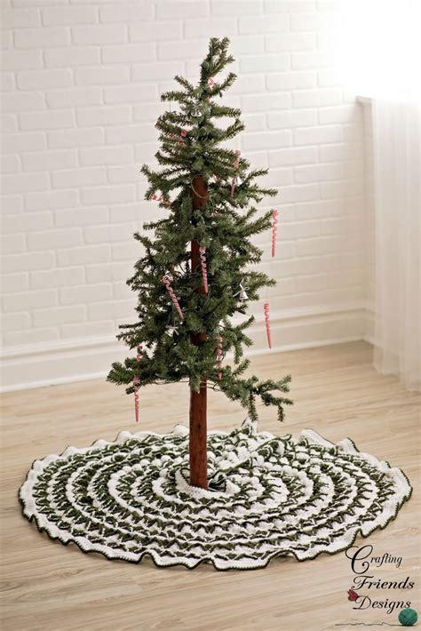 crafting friends designs pine tree skirt free