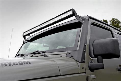 jk led light bar 50in led light bar windshield mounting