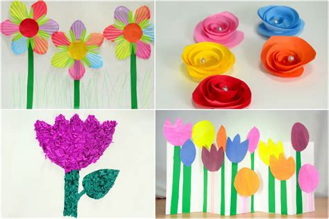 paper craft flowers make how to make paper flowers for