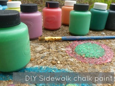 sidewalk chalk paint diy 17 best images about national out on