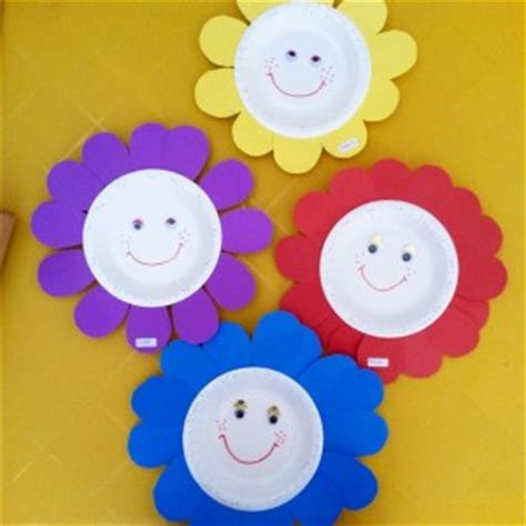 paper flower craft for preschoolers flower craft idea for crafts and worksheets for