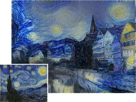 picasso paintings starry this new algorithm gives photos the look of paintings