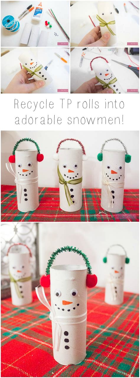 snowman crafts for to make craftaholics anonymous 174 diy toilet paper roll snowmen