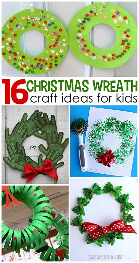 craft ideas for for wreath craft ideas for crafty morning