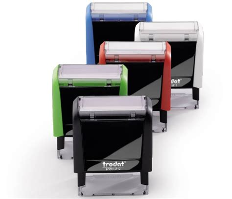 trodat rubber st self inking sts fredericton self inking sts