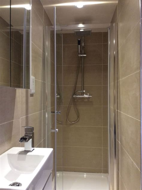 Small Ensuite Bathroom Ideas by The En Suite Shower Room Is Fully Tiled In