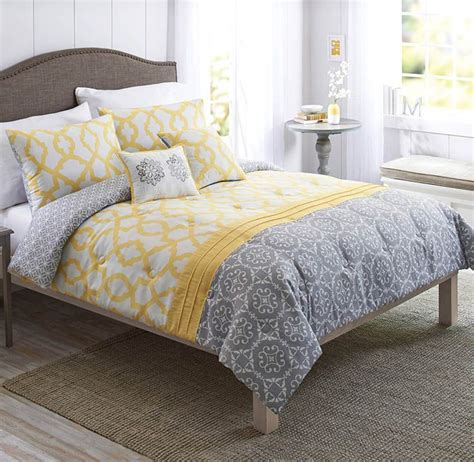 gray and yellow comforter sets best 25 comforter set ideas on bed comforter