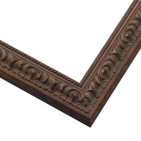 woodworking corner cls artisanal brown frame cls2 chocolate brown picture frame