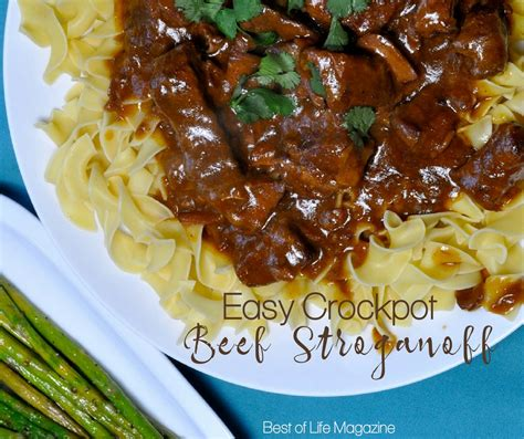 crock pot recipes beef stroganoff crockpot recipe with golden soup