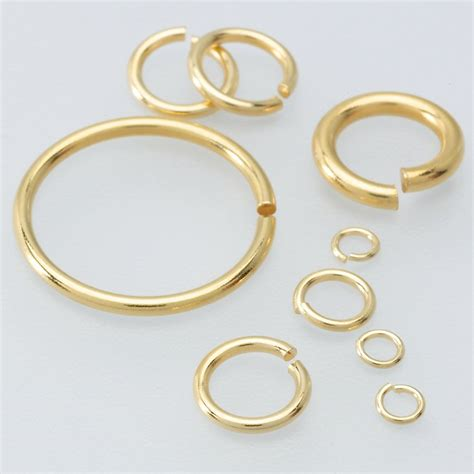 what is a jump ring in jewelry 14k yellow gold 1 6mm jump ring