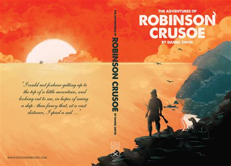 robinson crusoe picture book book bookcover spotlight 82