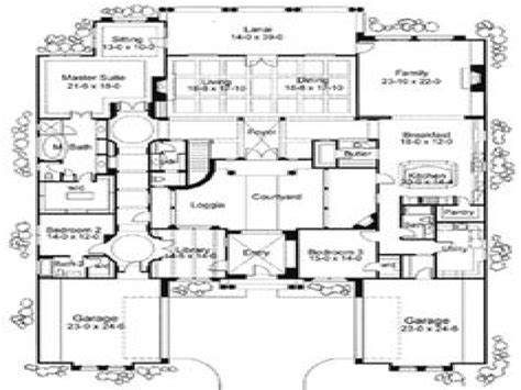 mediterranean house plans with courtyard mediterranean house floor plans mediterranean house plans with courtyards mediterranean style