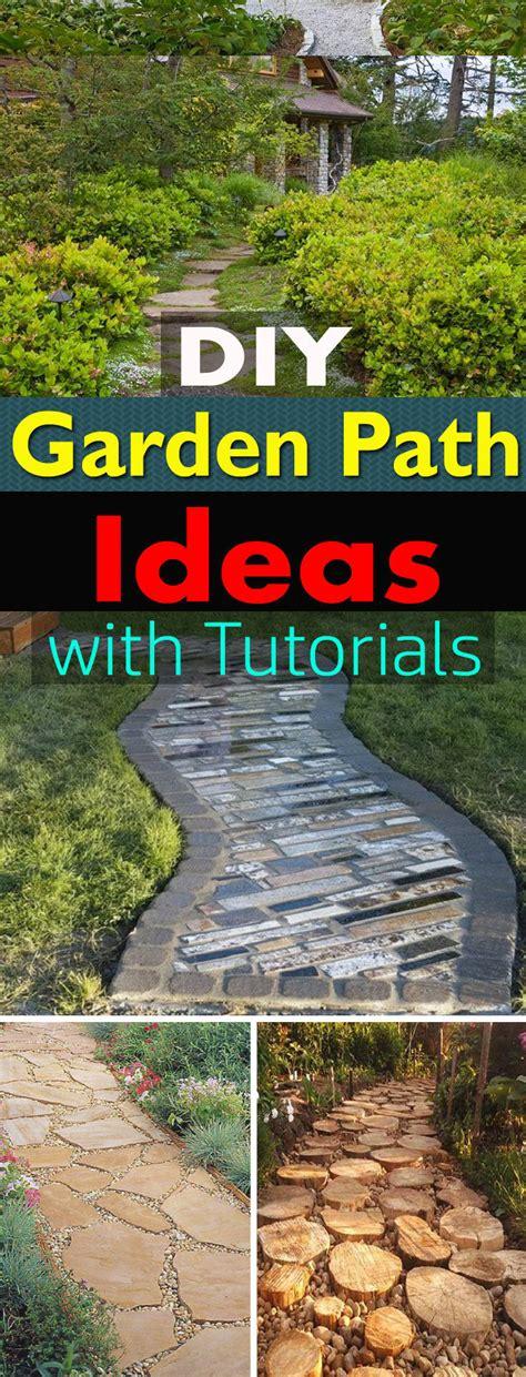 cheap ideas for garden paths 19 diy garden path ideas with tutorials balcony garden web