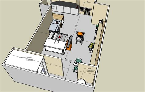 woodshop floor plans woodshop building plans beginner woodoperating