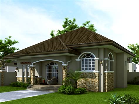 Small House Design contemporary single storey house plan home design