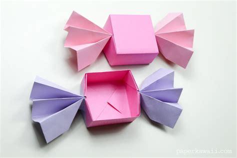 origami tool box origami box lid paper kawaii