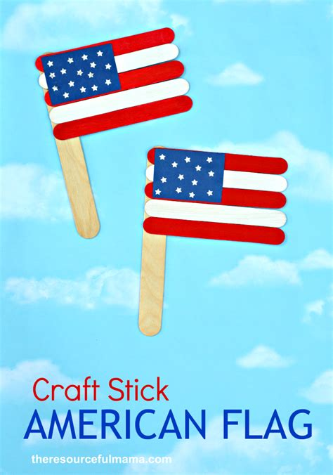 american flag crafts for patriotic craft stick american flag craft the
