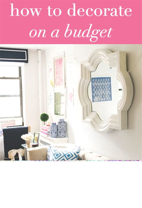 how to decorate for on a budget how to decorate on a budget design