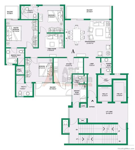 Dlf New Town Heights Floor Plan central park 2 floor plan floorplan in