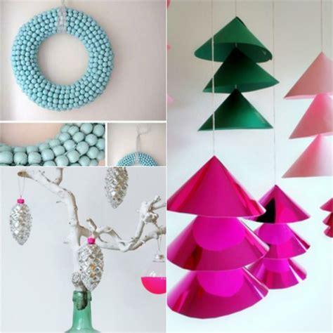 manualidades para arbol de navidad manualidades para navidad cincuenta ideas originales