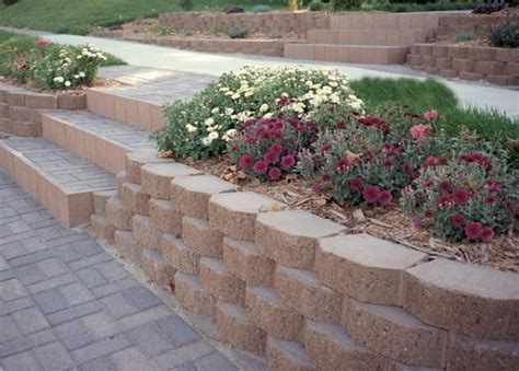 garden walls blocks miscellaneous retaining wall blocks landscape dirt