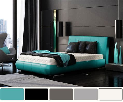 Cool Lighting For Room by Turquoise And White Pearl Bedroom Design Native Home