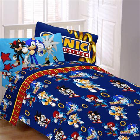 sonic speed bedding sheet set walmart