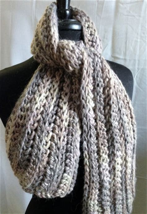 free knitted scarf patterns using bulky yarn free crochet pattern bulky ribbed scarf alpaca