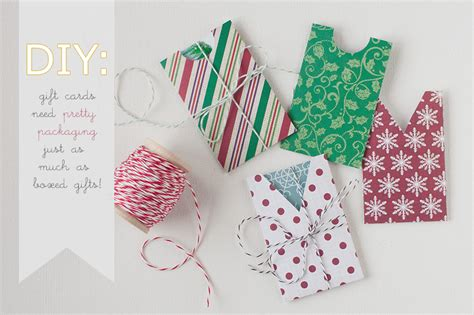 make gift card diy gift card holders