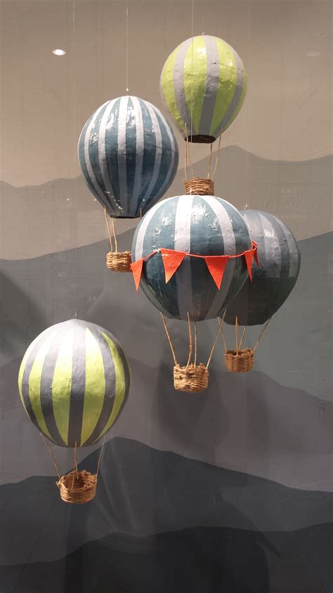 paper mache balloon crafts paper mache air balloons whiskers on kittens