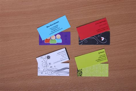 what makes a business card stand out 5 ways to make your business cards stand out 123print uk