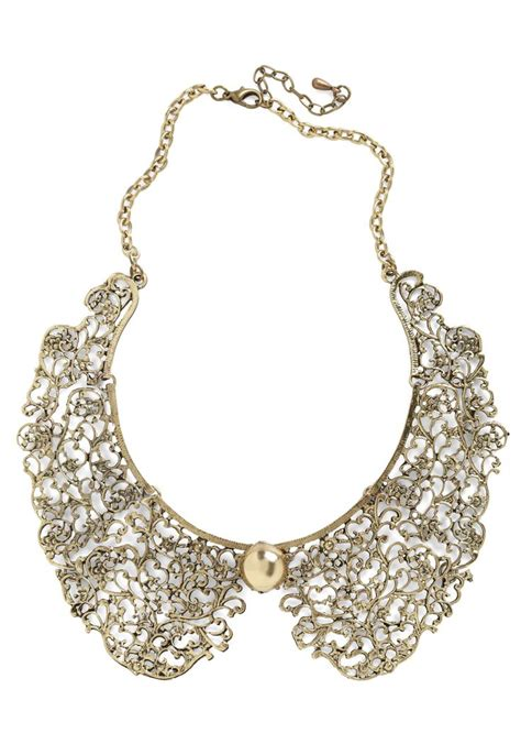 how to make a collar necklace with an ornate fate collar necklace