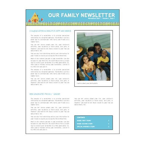 free newsletter templates for word 2007 microsoft word newsletter templates peerpex