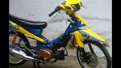 Modifikasi Motor Fiz R by 100 Gambar Motor Fiz R Modif Trail Terlengkap Gubuk