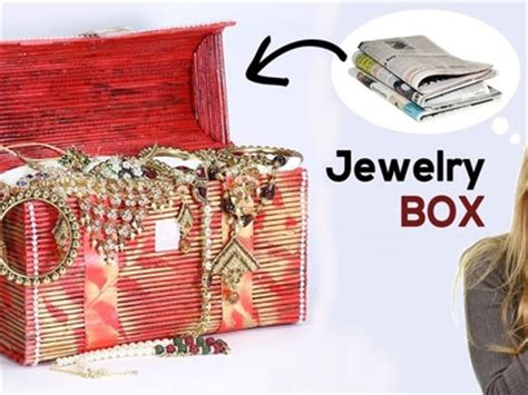 how to make a jewelry box out of wood diy easy pearl beaded right angle weave bead